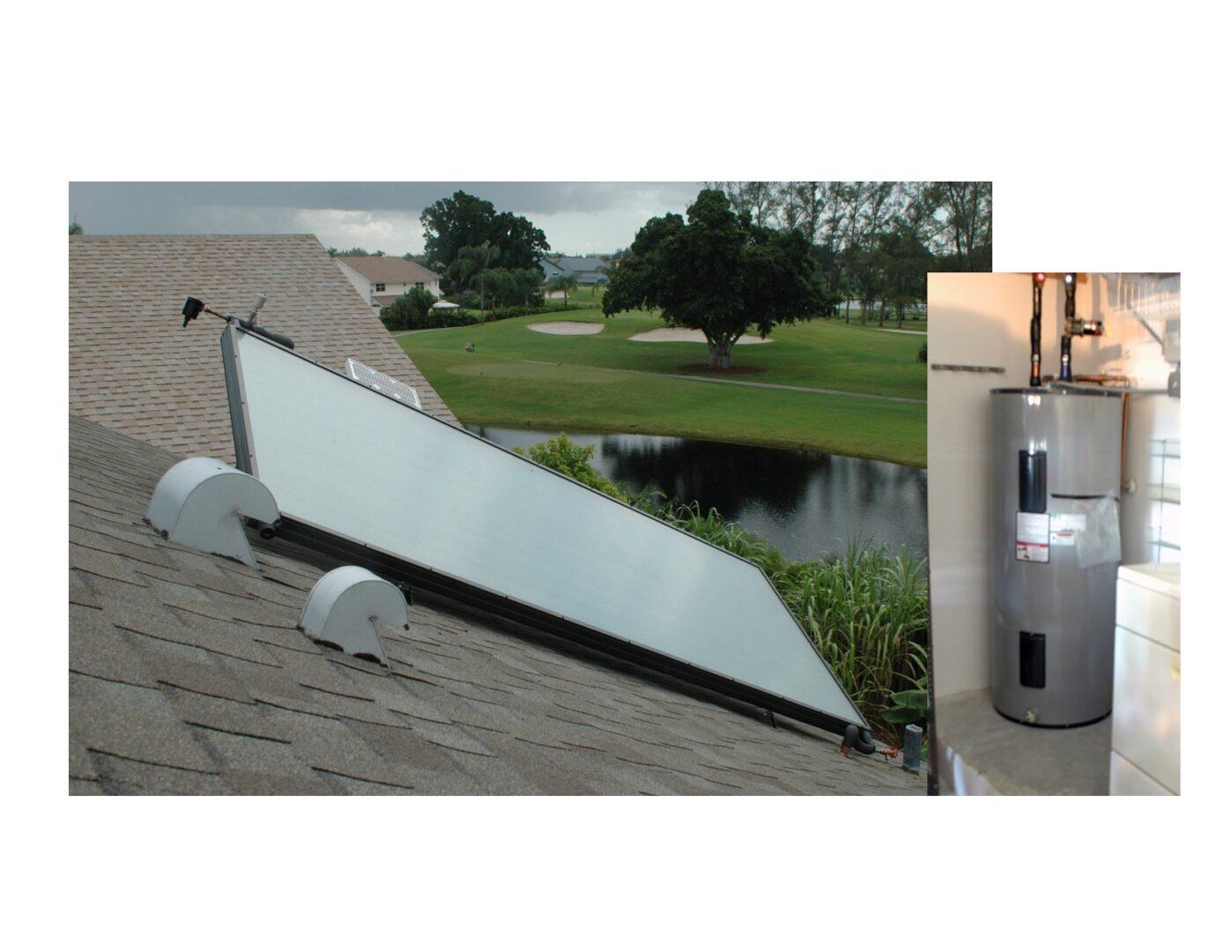 Solar Hot Water System _ Pembroke Pines, Florida