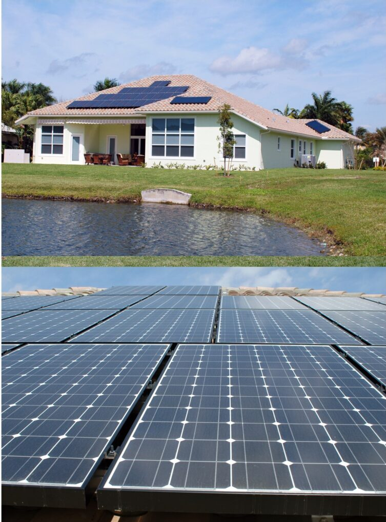 7kW Grid-Tied Solar System with (2) Solar Hot Water Systems - Davie, FL