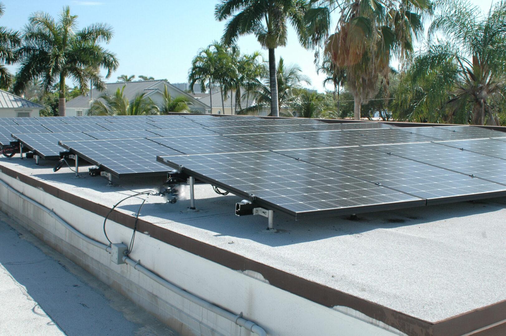 11.2kW Grid-Tied Roof-Tilt System - Hollywood, FL