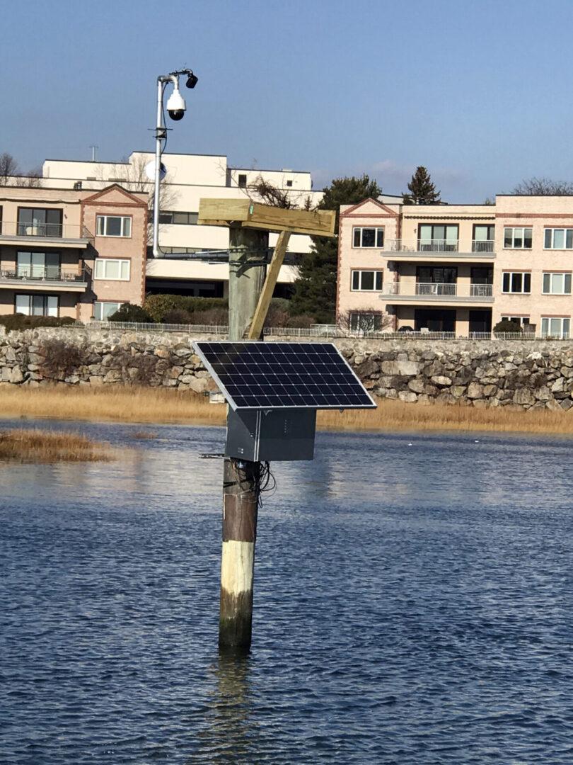 Solar Powered Osprey-Cam - Greenwich, CT