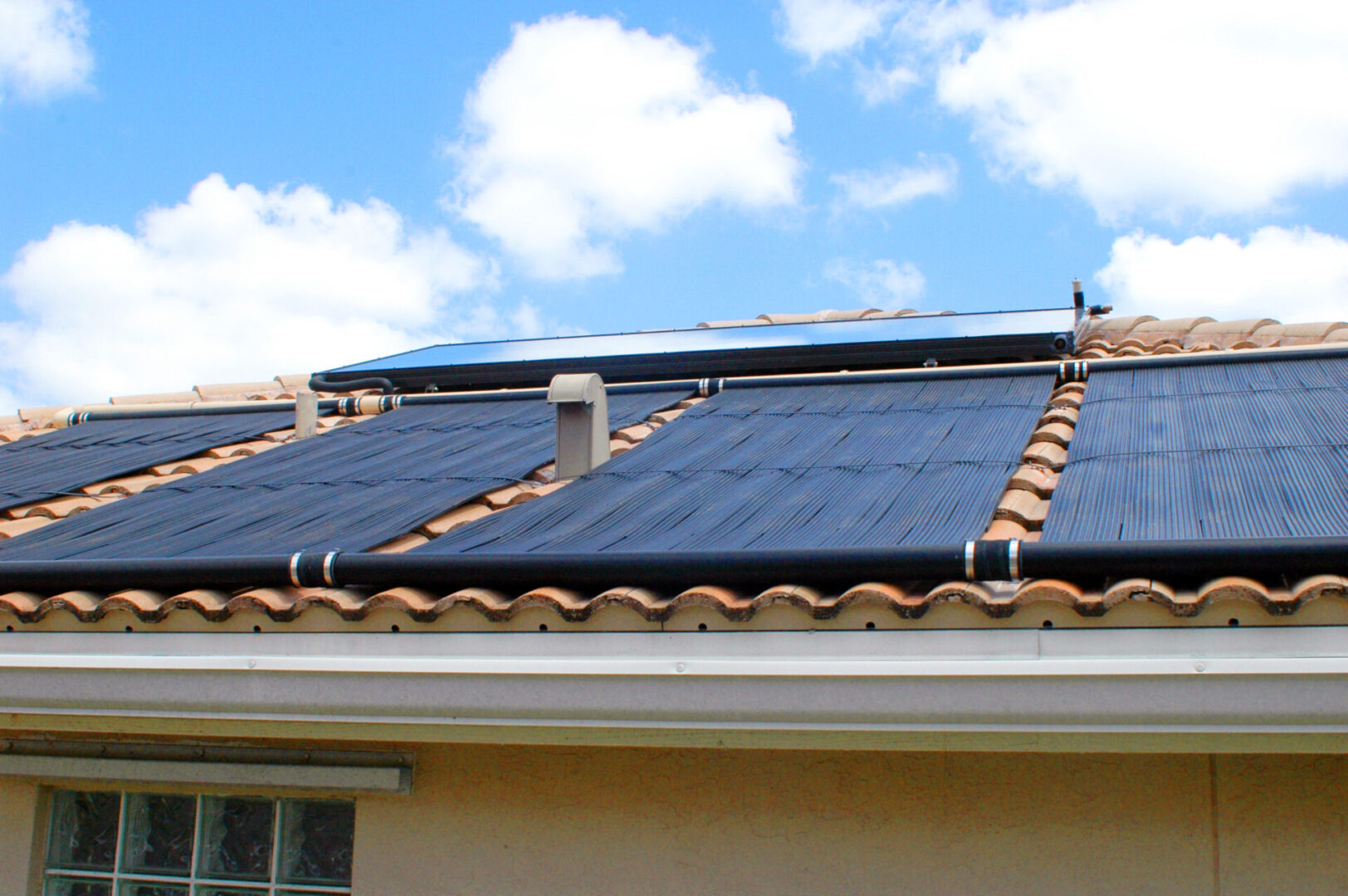 Solar Domestic Hot Water System with Solar Pool Heating - Green Acres, FL