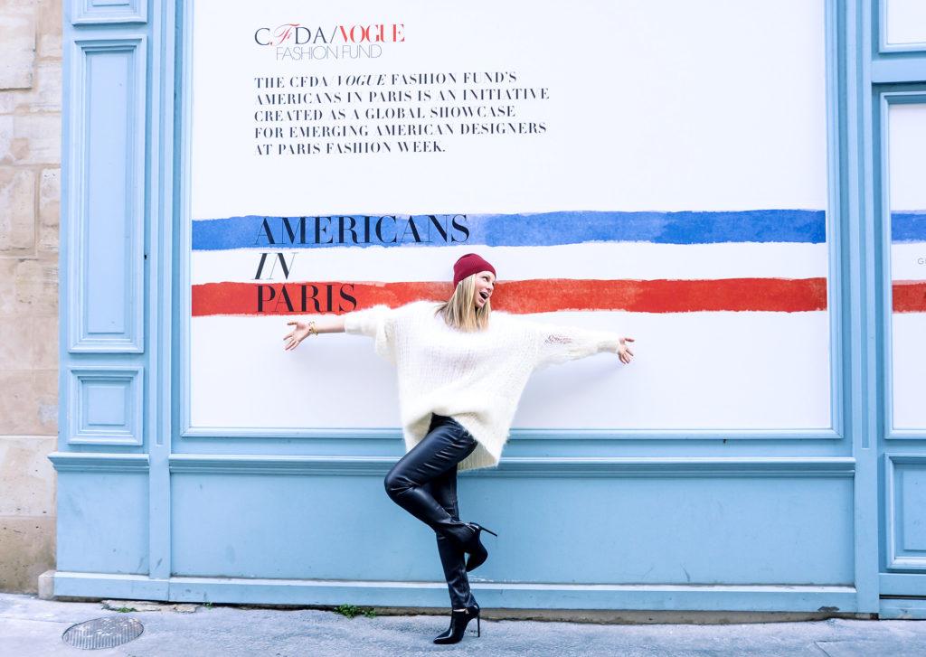 Americans in Paris mural