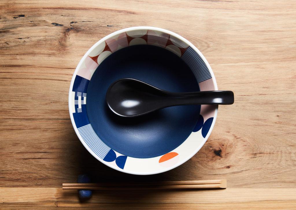 Tonchin custom ramen bowl