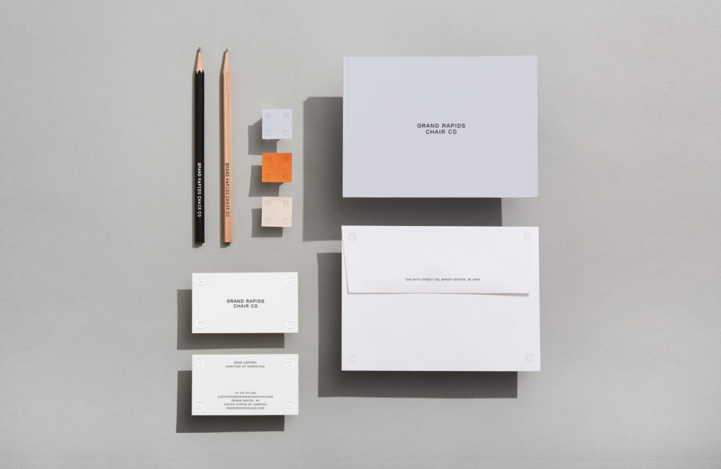Suite of GRCC stationery