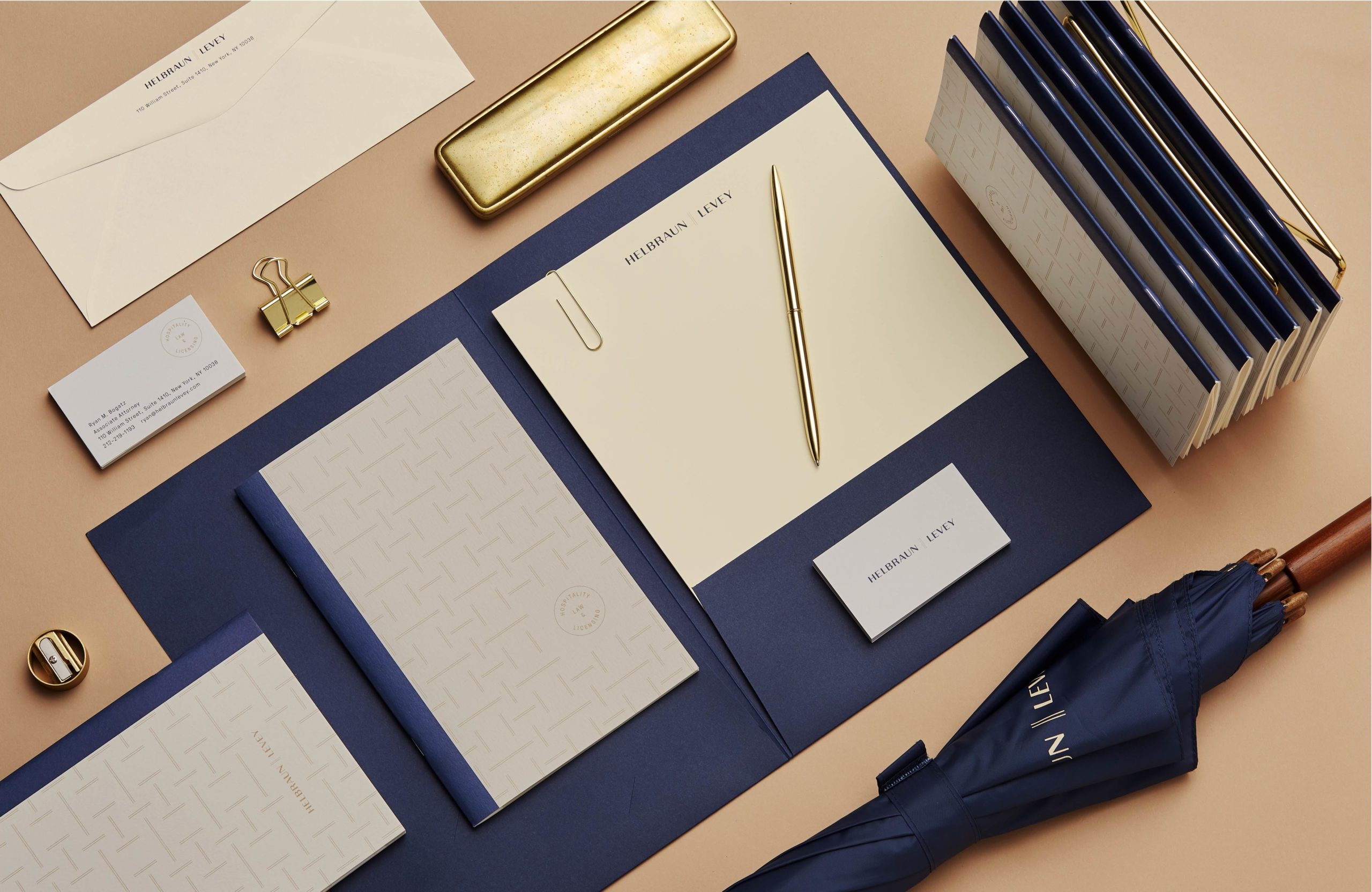 Helbraun Levey collateral suite
