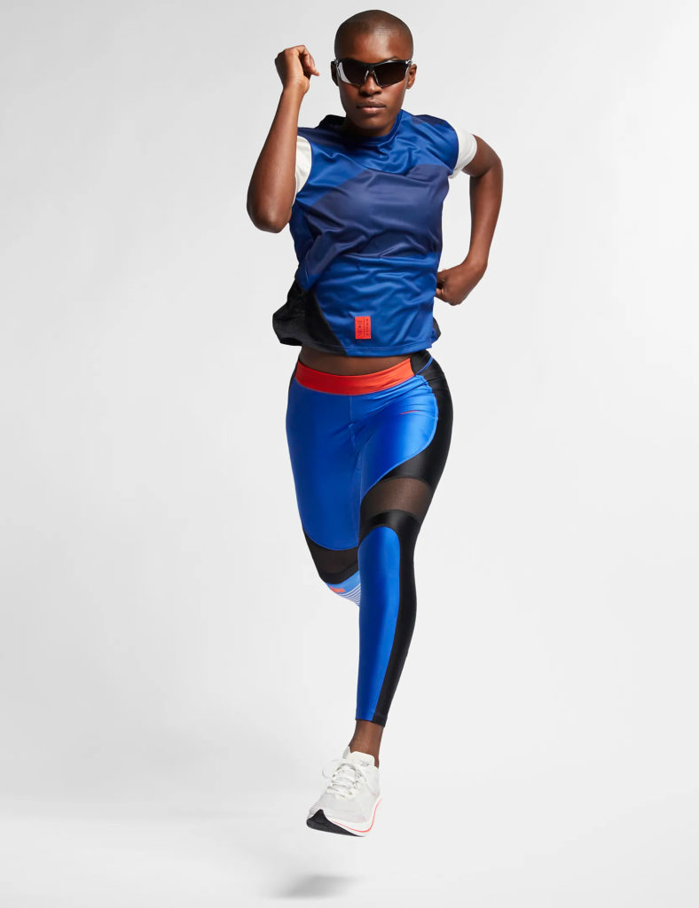 Woman wearing 2019 Tokyo Marathon for Nike by LMNOP apparel