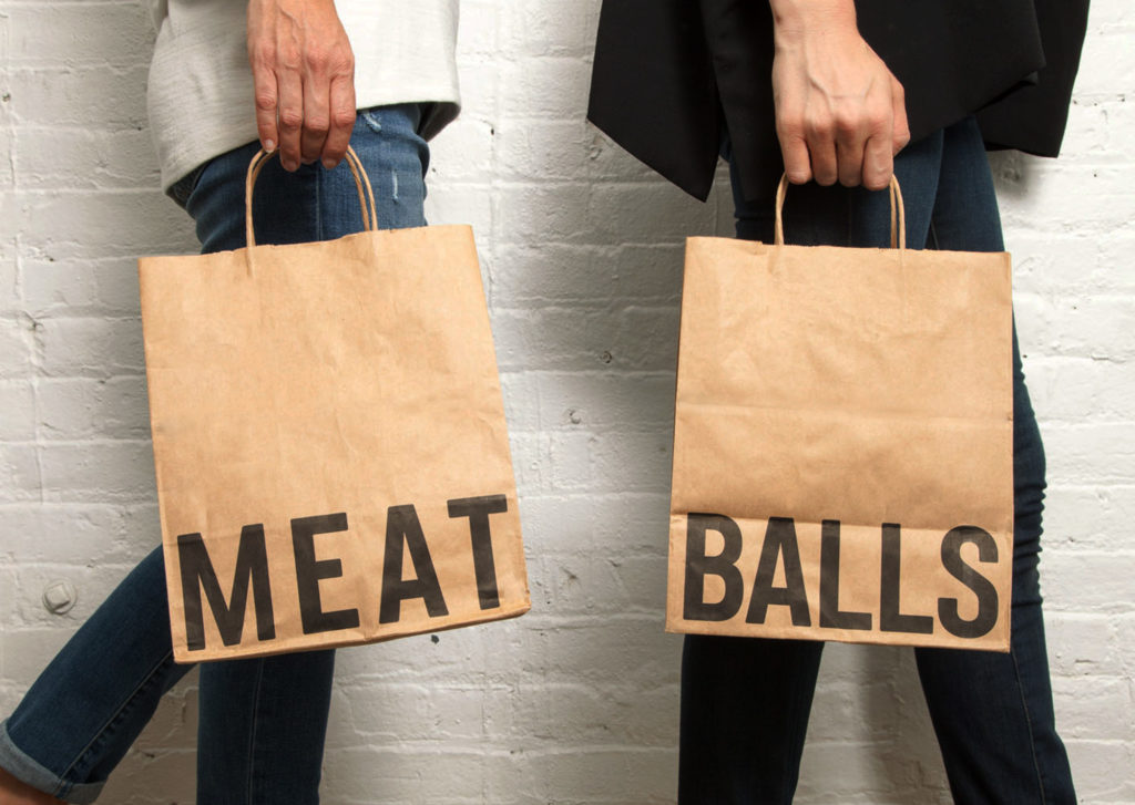 Meatball Shop takeout bags