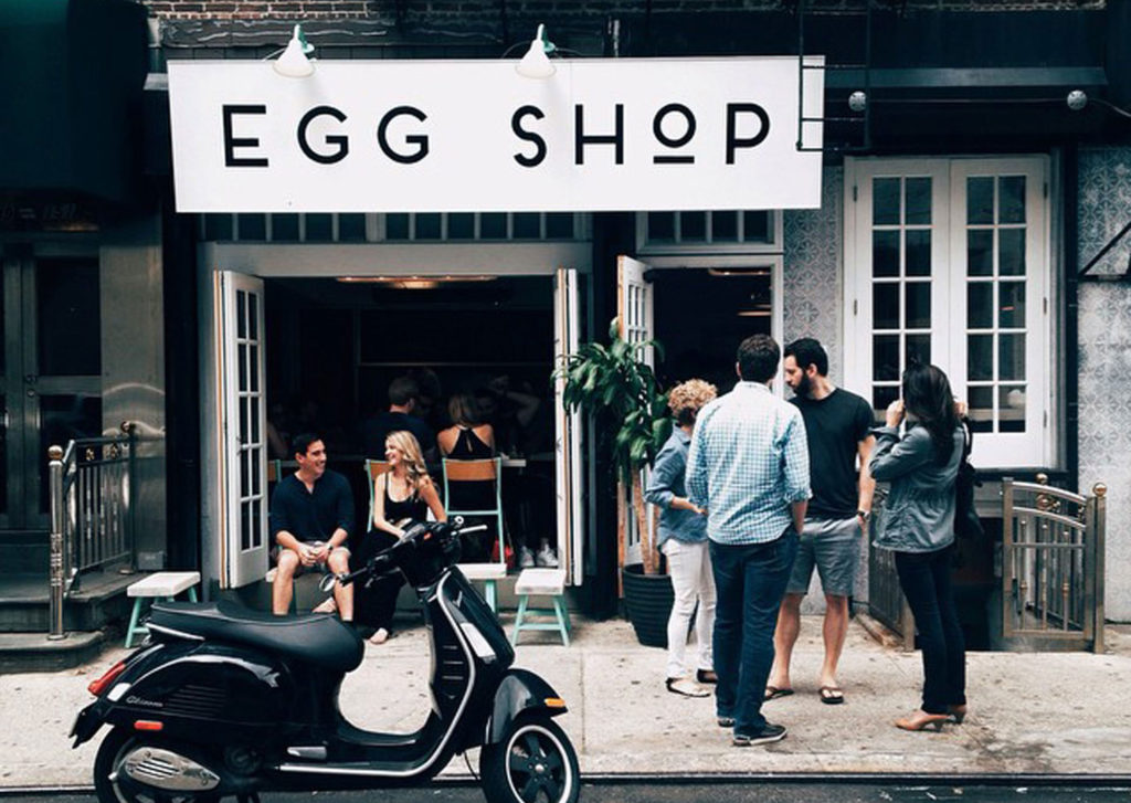 Egg Shop Manhattan exterior