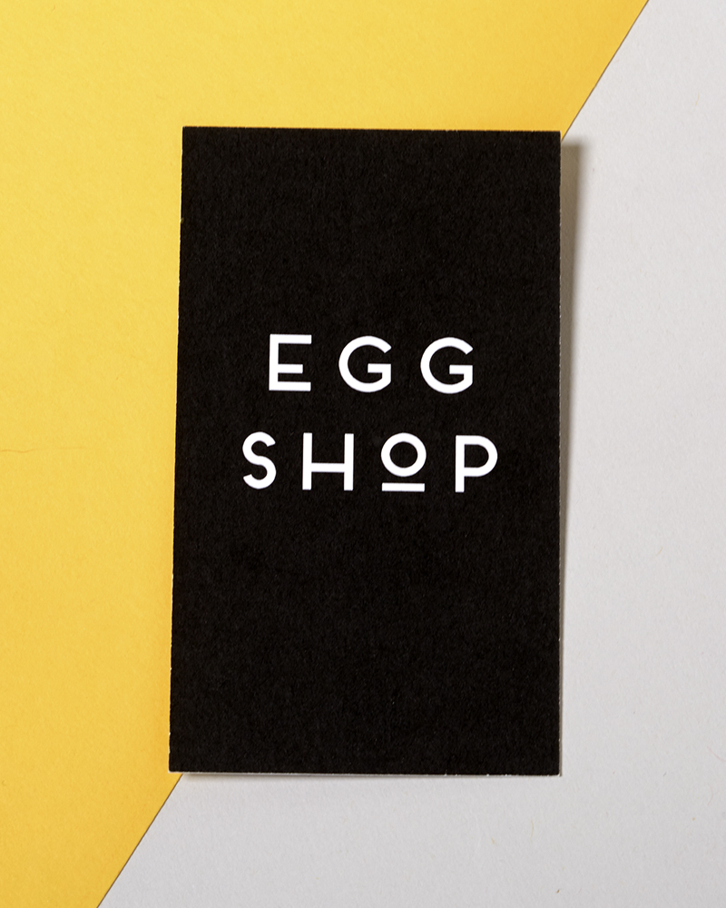 Egg Shop business card