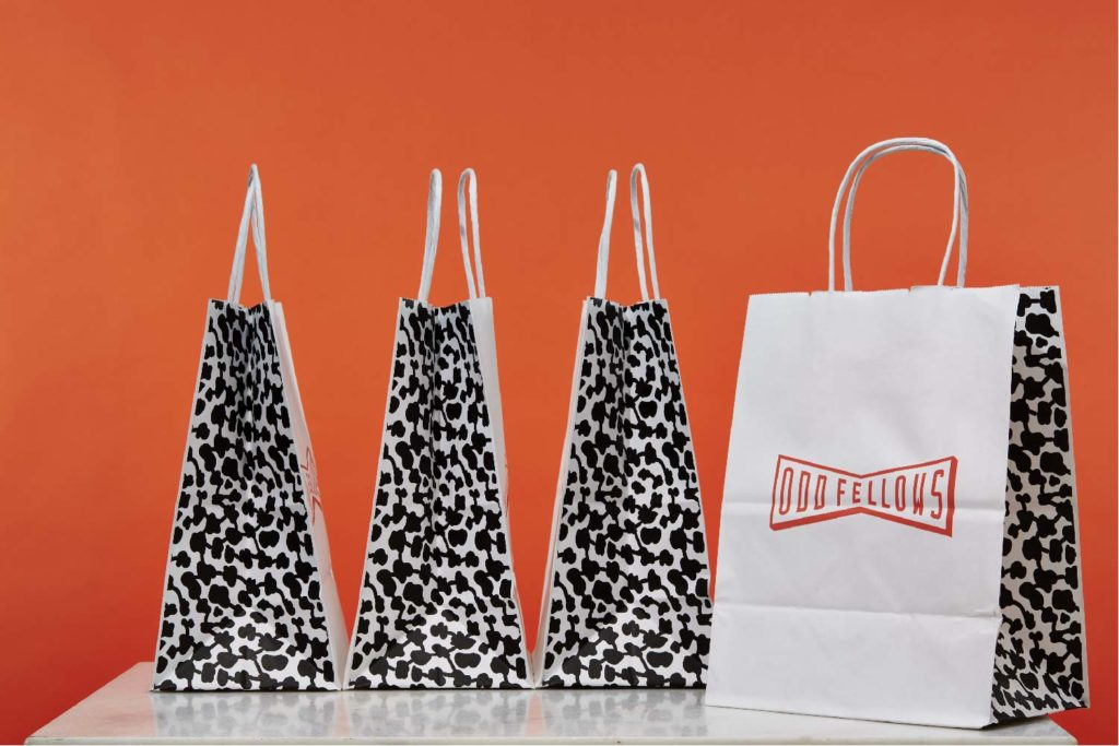 oddfellows takeout bags