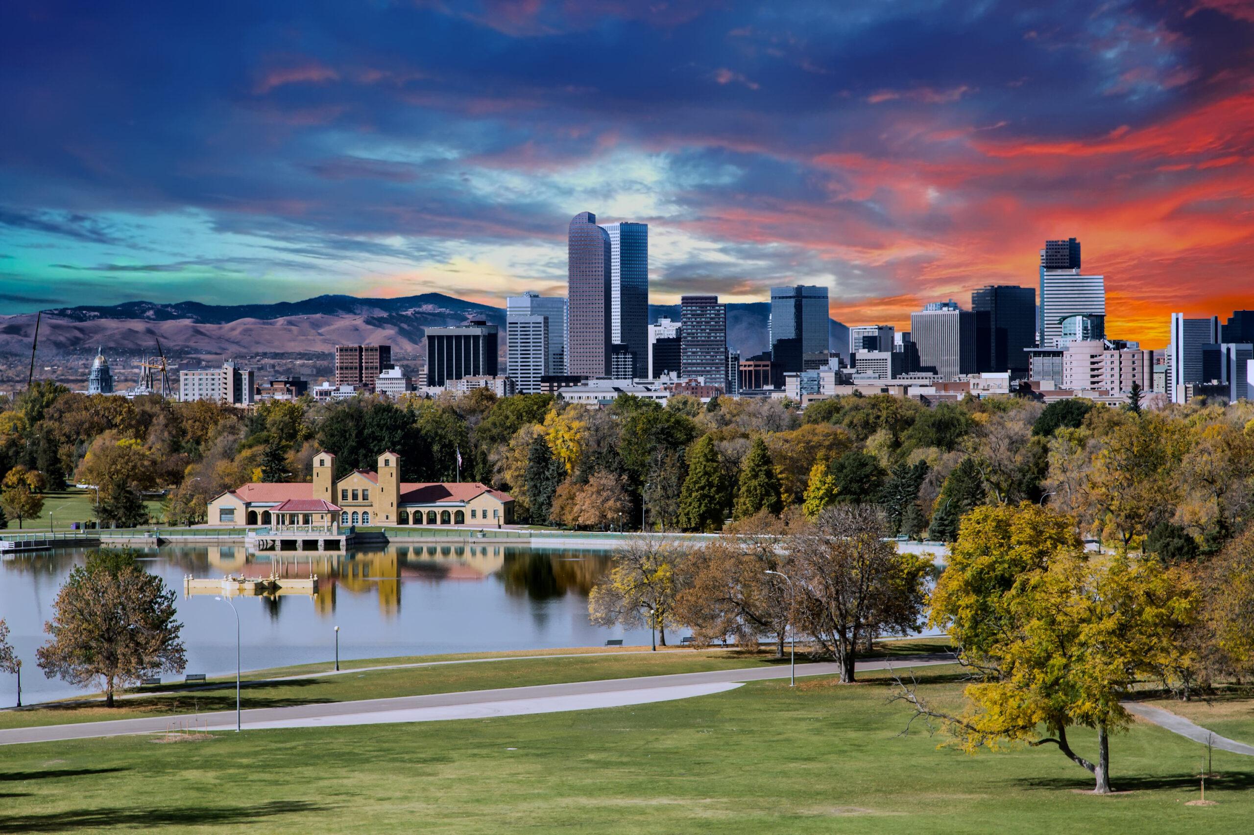 City Park and Denver Skyline