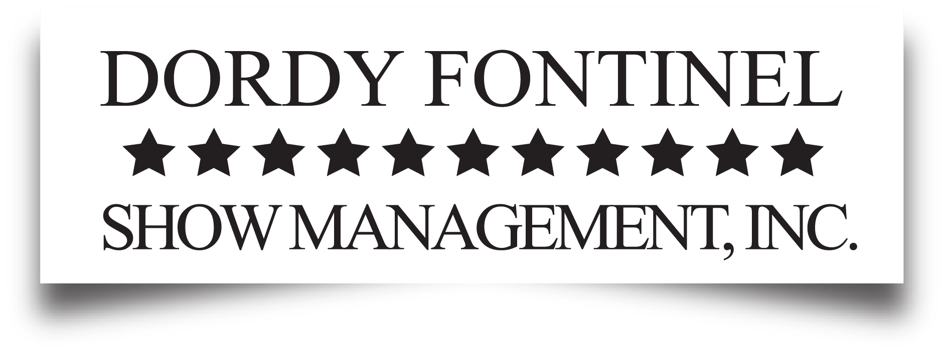 dordy fontinel show management