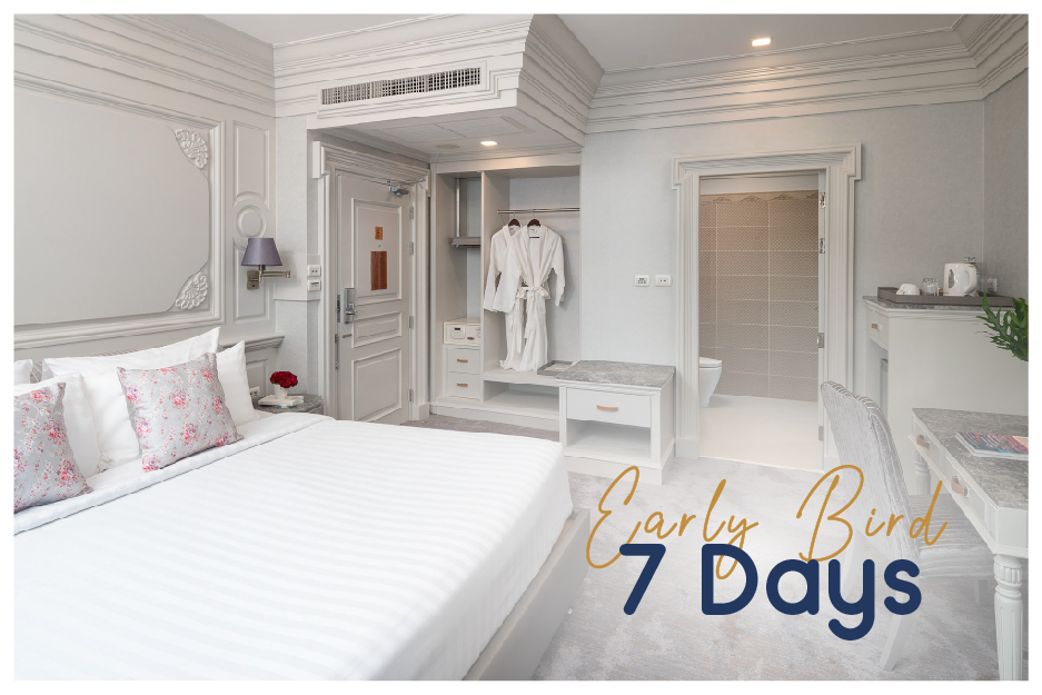 (English) EARLY BIRD 7 DAYS SAVE 22% ROOM ONLY