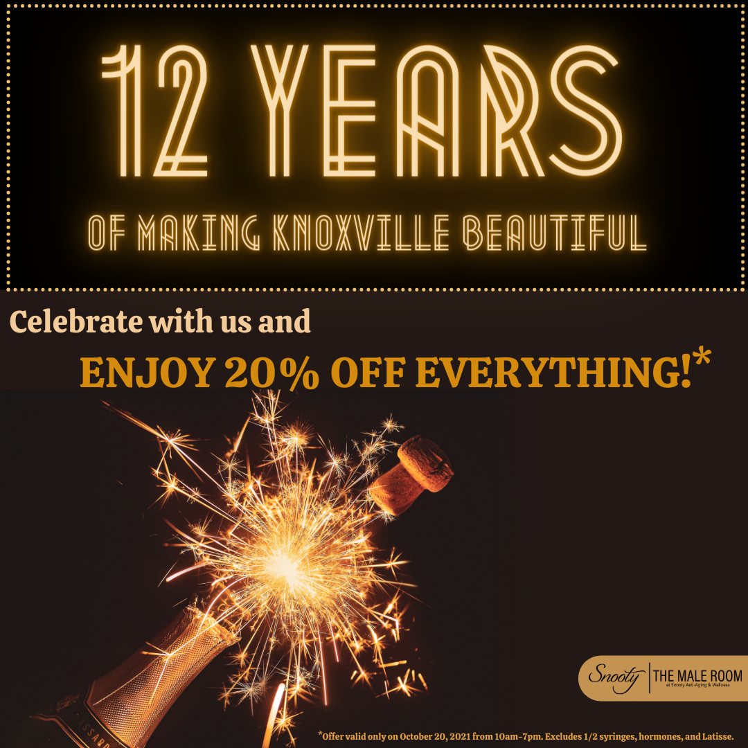 """Featured image for """"Snooty and The Male Room celebrates 12 years with special offers"""""""
