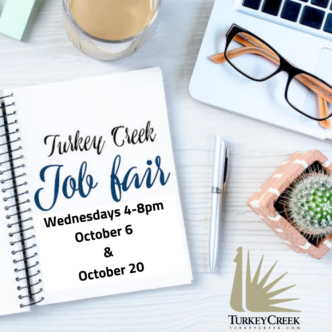 """Featured image for """"Turkey Creek Job Fair Oct. 6 and 20"""""""