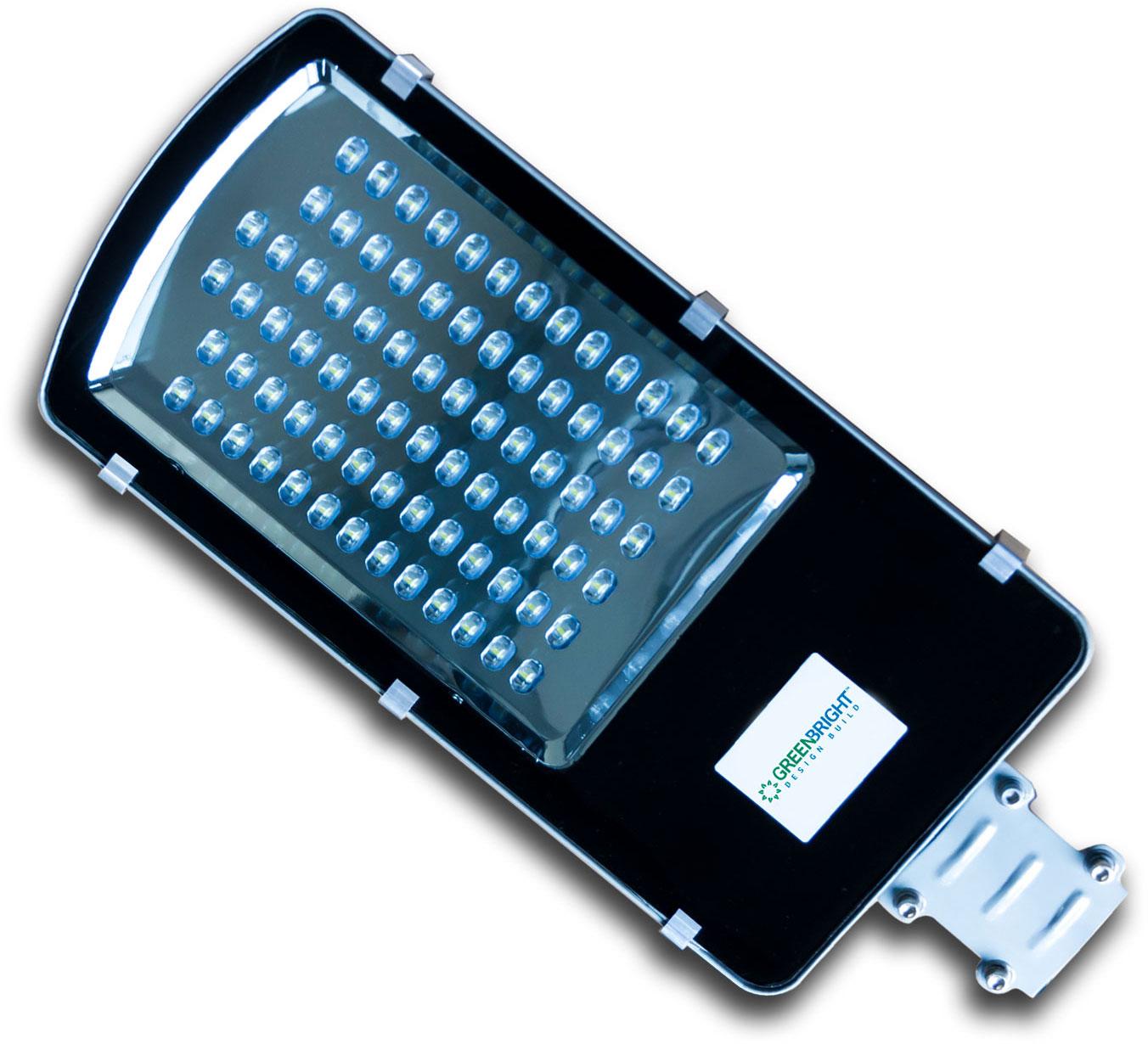 Solar Street Light Assembly from GreenBright Design Build