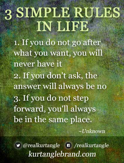 3 Rules in Life- Kurt Angle Official Blog