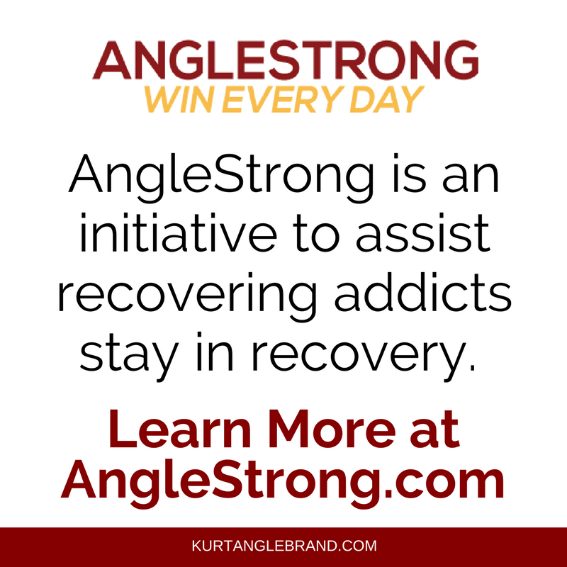 AngleStrong addiction recovery app