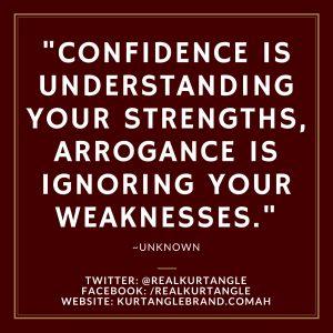 Confident or Arrogant? Kurt Angle Official Blog