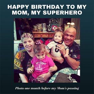 Happy Birthday Mom- Kurt Angle Official Blog