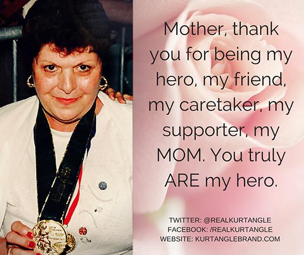 My Mother Jackie-My hero
