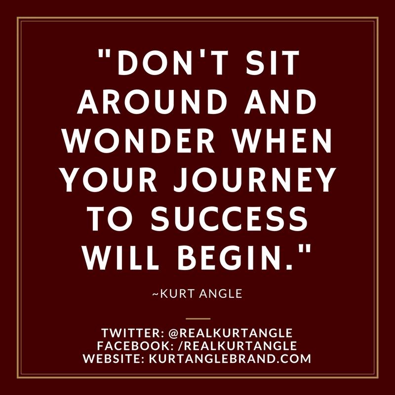 Journey to Success-Kurt Angle Official Blog