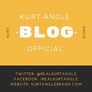 Kurt Angle Official Blog