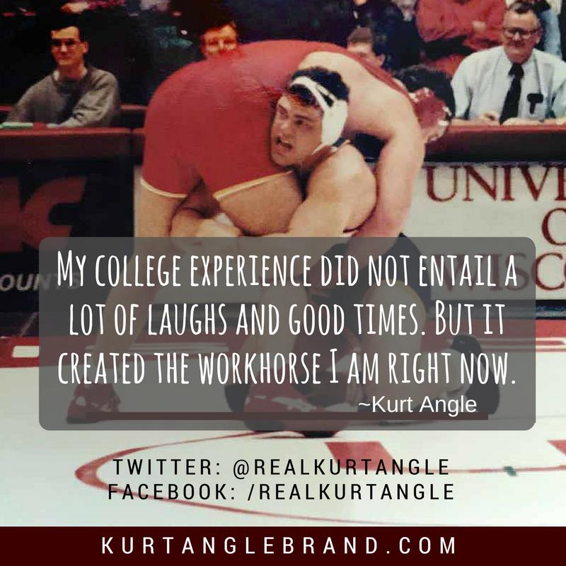 Looking Back- Kurt Angle Official Blog