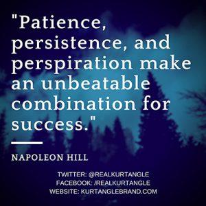 Patience-Kurt Angle Official Blog