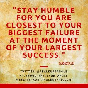 Stay Humble- Kurt Angle Official Blog