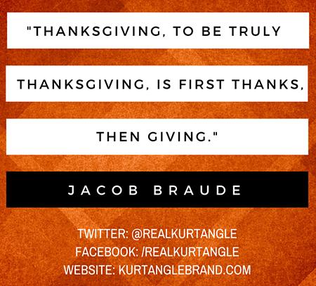 ThanksGIVING-Kurt Angle Official Blog