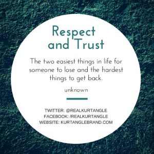 Trust and Respect-Kurt Angle Official Blog