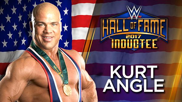 Kurt Angle-WWE Hall of Fame Inductee