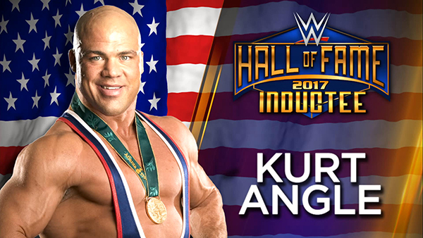 Kurt Angle-WWE Hall of Fame Inductee