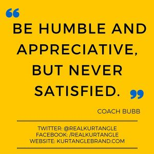 Being Satisfied- Kurt Angle Official Blog