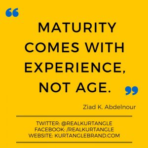 Maturity-Kurt Angle Official Blog