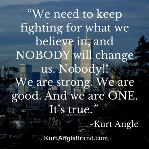 September 11- Kurt Angle Official Blog