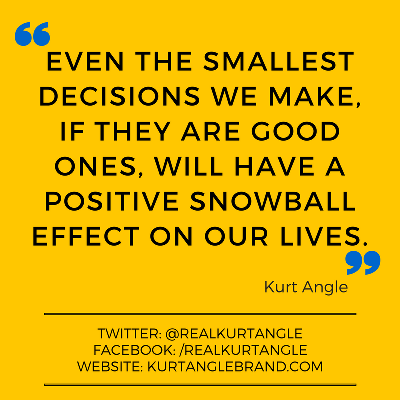 Snowball Effect - Kurt Angle Official Blog
