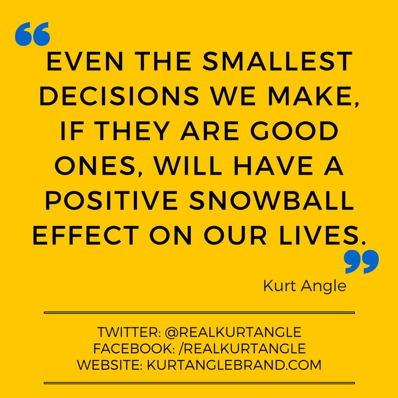 Snowball Effect - Kurt Angle Official Blog