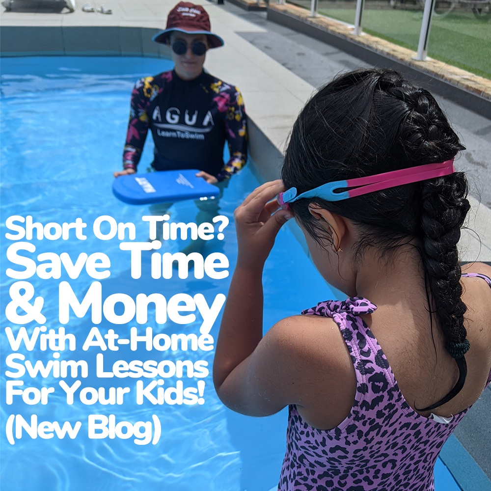 Short On Time? Save Time AND Money With At-Home Swim Lessons For Your Kids!