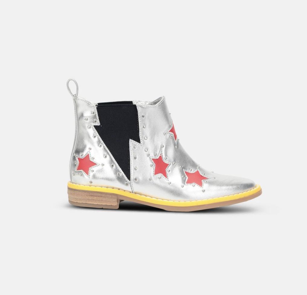 #6 Top Designer Shoes For Kids - Stella McCartney Red Star Booties