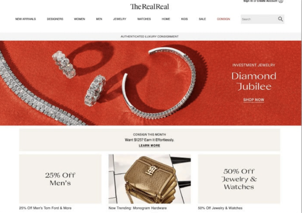 The Real Real Designer Luxury Resale