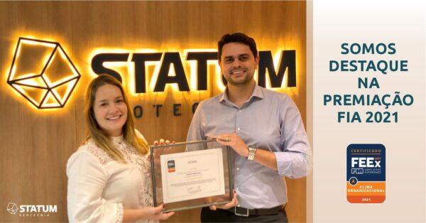 STATUM recebe Certificação FIA Employee Experience