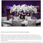 La Vie en Rose Design's Featured Editorial on the Homepage of Grace Ormonde Wedding Style's Site