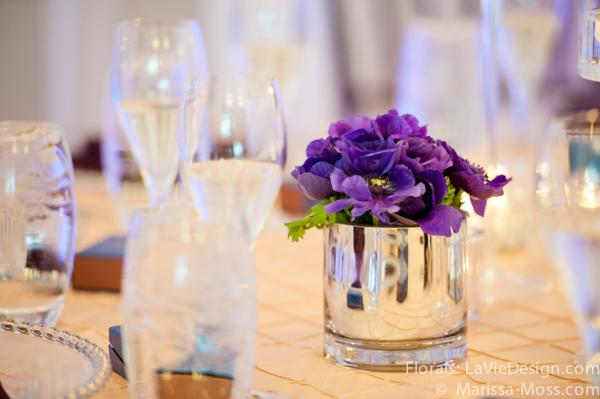 la-vie-en-rose-reception-crystal-candle-puple-hyatt-clearwater-beach-florida