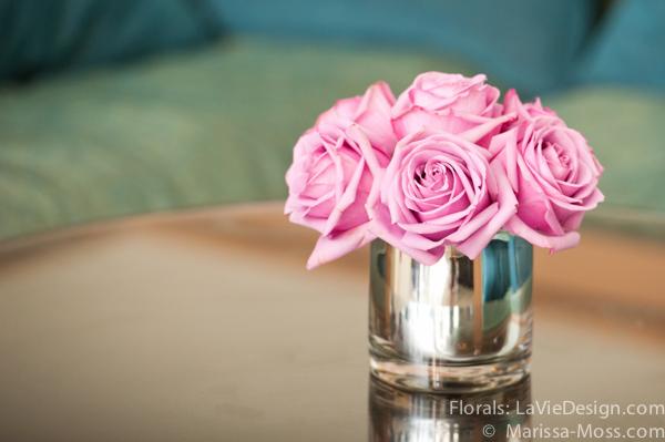 la-vie-en-rose-reception-pink-centerpiece-votives-hyatt-clearwater-beach-florida