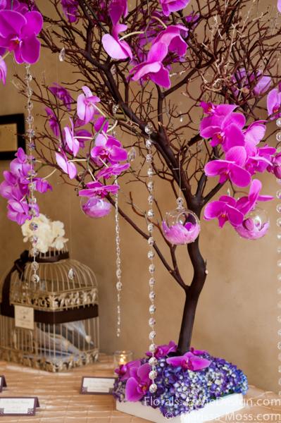 la-vie-en-rose-reception-phalaenopsis-orchid-crystal-strand-hydrangea-tree-puple-hyatt-clearwater-beach-florida
