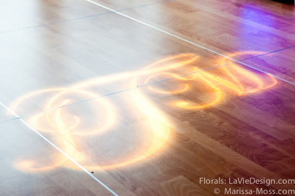 la-vie-en-rose-reception-dance-floor-monogram-pin-light-hyatt-clearwater-beach-florida