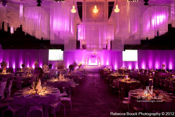 la-vie-en-rose-special-event-jouney-to-love-guest-table-reception-purple-up-light-tampa-florida