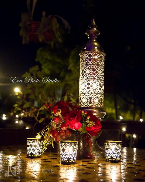 la-vie-en-rose-wedding-red-lanter-candle-westin-tampa-bay-florida